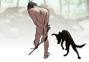 """Adam & Dog"""