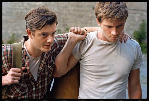 Sam Riley as Sal Paradise/Jack Keroac; Garret Hedlund as Dean Moriarty/Jack Cassady