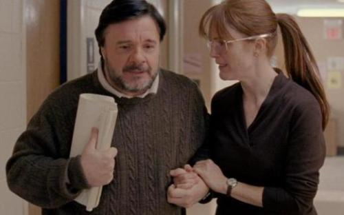 Nathan Lane, Julianne Moore