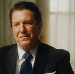 Alan Rickman as Ronald Reagan
