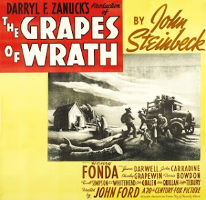Grapes of Wrath, The - poster