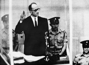 Adolf Eichman on trial