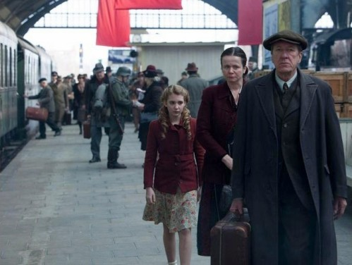"""***, Emily Watson and Stephen Rea in """"The Book Thief"""""""