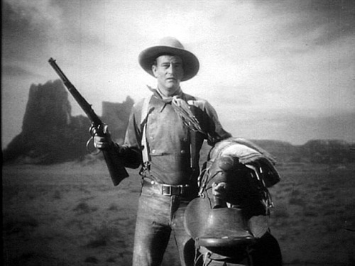 "John Wayne in ""STAGECOACH"" (1939)"