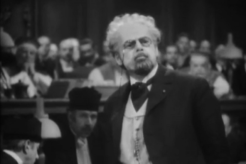 Paul Muni as Emile Zola
