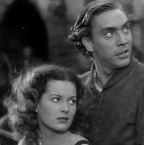 Screen newcomers: Maureen O'Hara and Edmund O'Brien