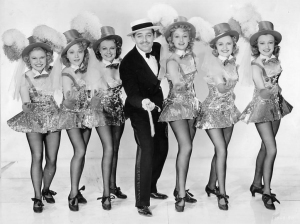Gable in his only filmed song-and-dance number