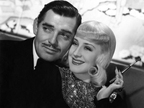 "Clark Gable, Norma Shearer in ""Idiot's Delight"""