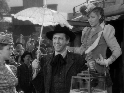 James Stewart as Tom Destry Jr.