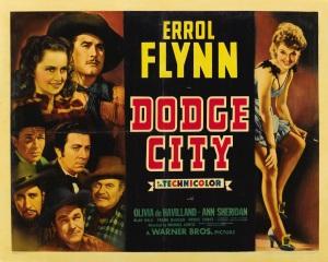 Dodge City poster 1