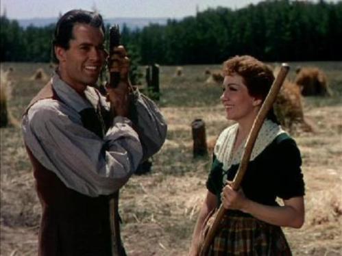 Henry Fonda and Claudette Colbert