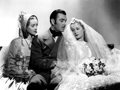 Bette Davis, George Brent, Miriam Hopkins