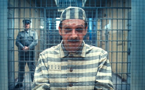 "Ralph Fiennes in Wes Anderson's ""The Grand Budapest Hotel"""