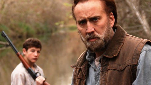 "Tye Sullivan, Nicolas Cage in ""Joe"""