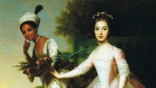 Counsins Dido and Elizabeth in an 18th-century portrait