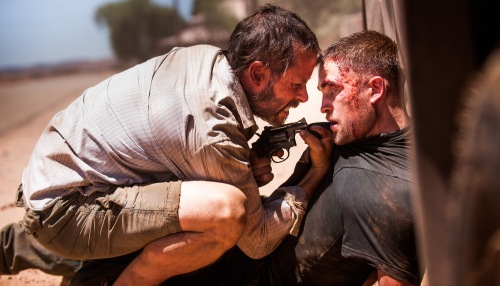 "Guy Pearce, Robert Pattinson in ""The Rover"""