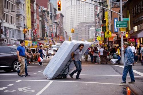 Romain Duris...new guy in New York