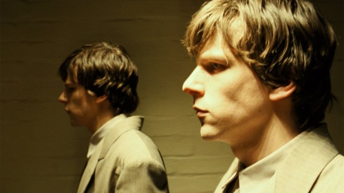 "Jesse Eisenberg and...Jesse Eisenberg in ""Double"""