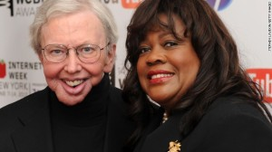 Roger and Chaz Ebert