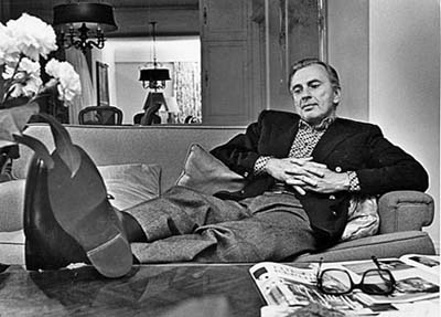 Apr. 10, 1978: Times staff photo of author Gore Vidal for obit.