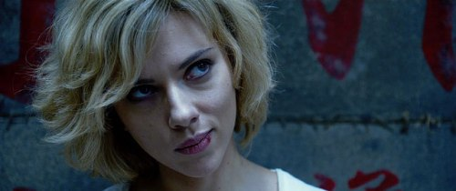 Scarlett Johansson is Lucy