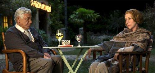 Om Puri and Helen Mirren