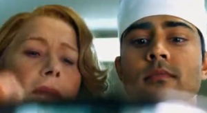 Helen Mirren and Manish Dayal