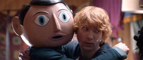 Frank (Michael Fassbender), Domhnall Gleeson
