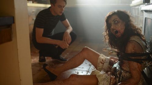 "Dane DeHaan and Aubrey Plaza in ""Life After Beth"""