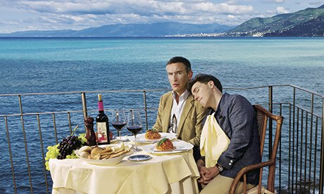 Steve Coogan and Rob Brydon...eating their way through Italy