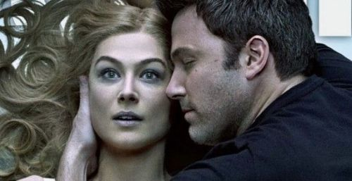 Rosamund Pike, Benn Affleck...in happier times