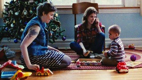 Lena Dunham, Anna Kendrick and Jude Swanberg