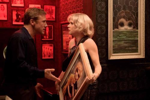 Christophe Waltz, Amy Adams as the Keanes
