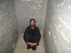Vandyke in his Libyan jail cell