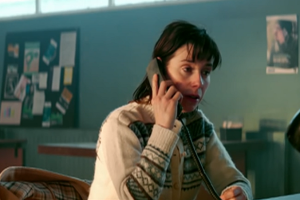 "Sally Hawkins...a crisis hotline operator in ""The Phone Call"""