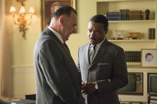 Tom Wilkinson as LBJ, David Oyelowo as MLK