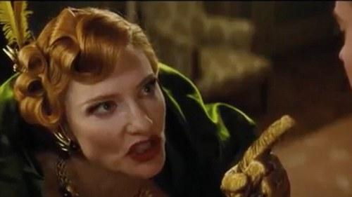 Cate Blanchett...evil stepmother