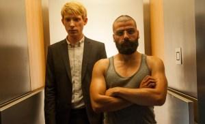 Domnail Gleeson and Oscar Isaacs