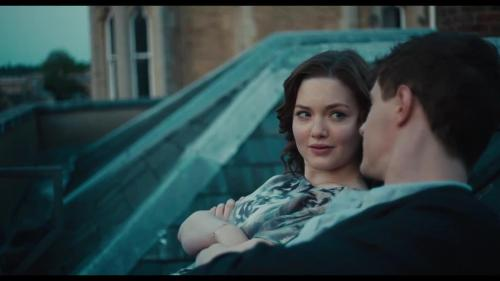 "Holliday Grainger and Max Irons in ""The Riot Club"""