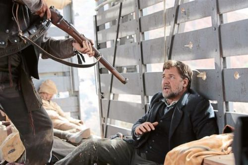"Russell Crowe in ""The Water Diviner""...the war goes on"