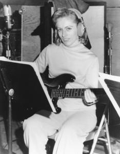 Bassist extraordinaire Carol Kaye