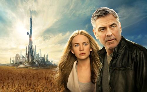 Britt Robertson, George Clooney