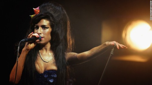 Amy Winehouse...in better times