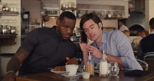 LeBron James and Bill Hader...a comedy star is born?
