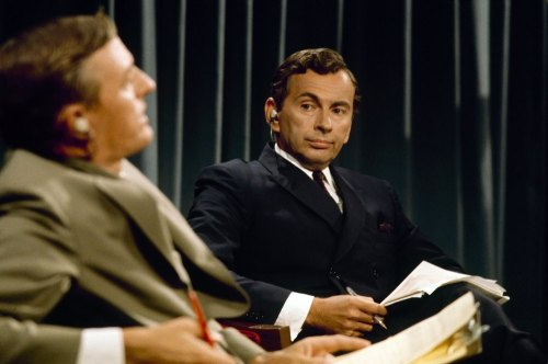 William F. Buckley, Gore Vidal in 1968