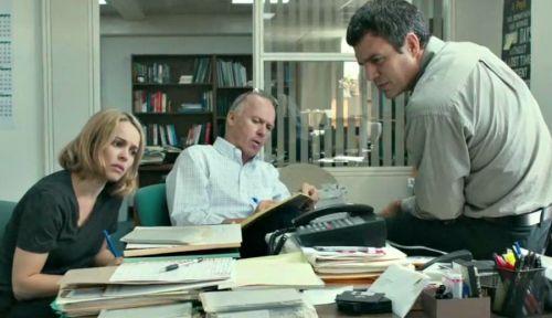 Rachel McAdams, Michael Keaton, Mark Ruffalo