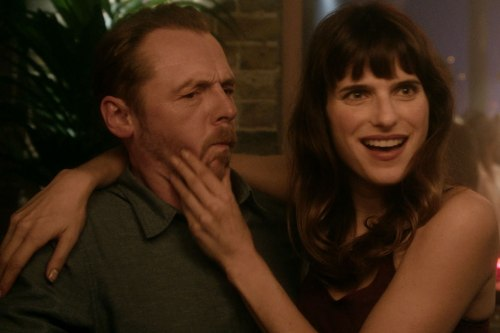 Simon Pegg, Lake Bell