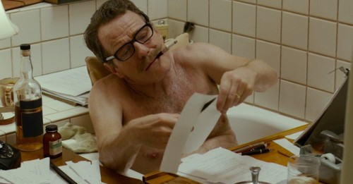 Bryan Cranston as screenwriter Dalton Trumbo