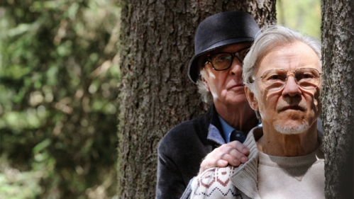Michael Caine, Harvey Keitel