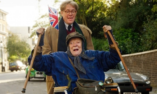 **, Maggie Smith